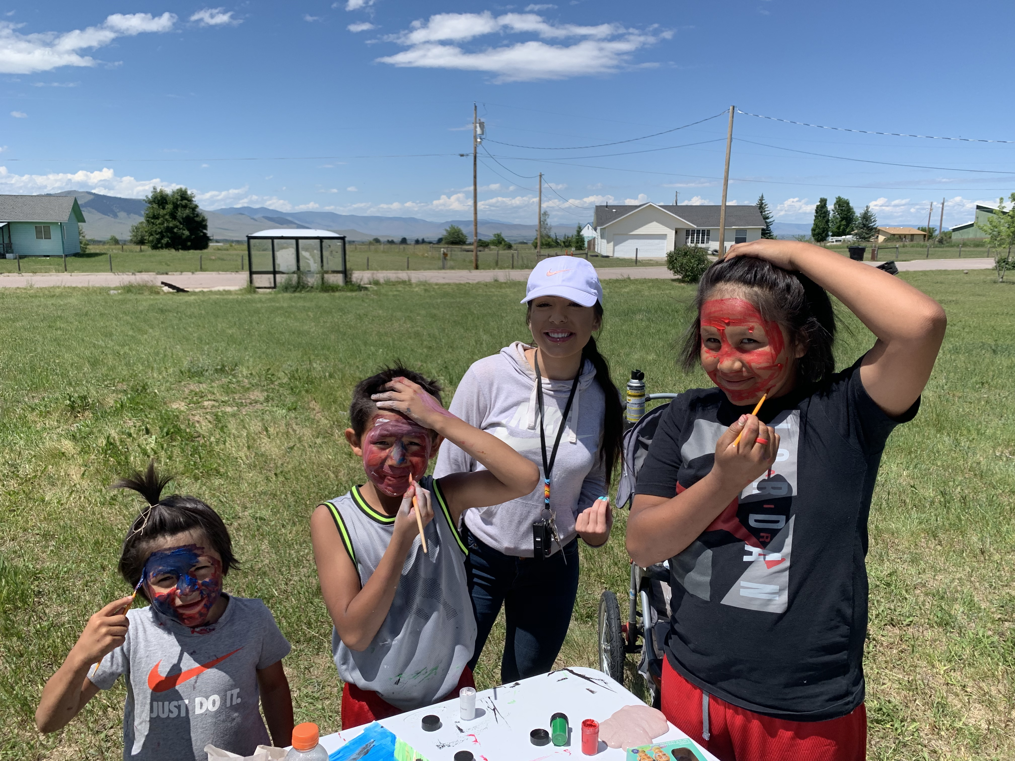 Tribal Ed Summer Activity with students